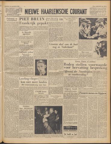 Nieuwe Haarlemsche Courant 1951-08-28
