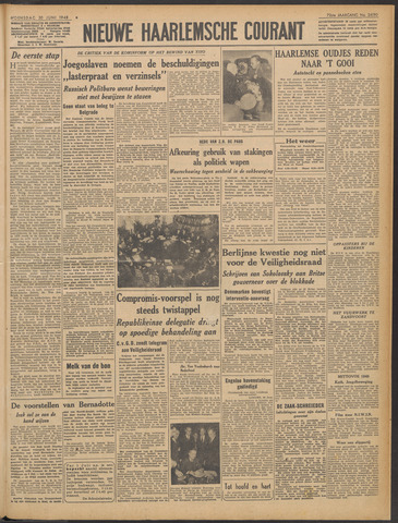 Nieuwe Haarlemsche Courant 1948-06-30