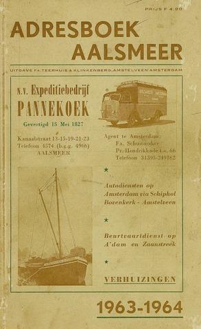 Adresboeken Aalsmeer 1963