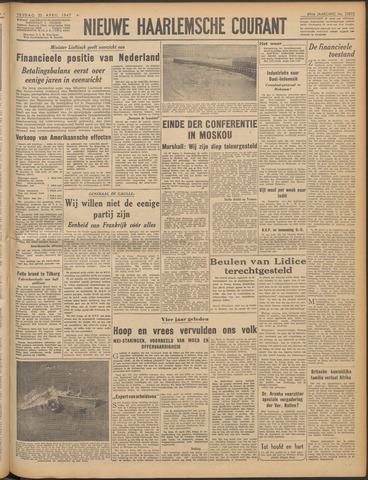 Nieuwe Haarlemsche Courant 1947-04-25