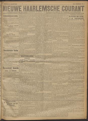 Nieuwe Haarlemsche Courant 1919-01-13