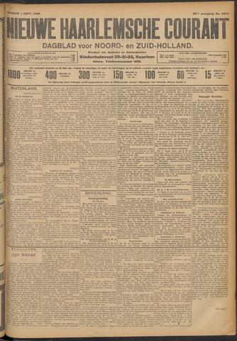 Nieuwe Haarlemsche Courant 1908-09-01