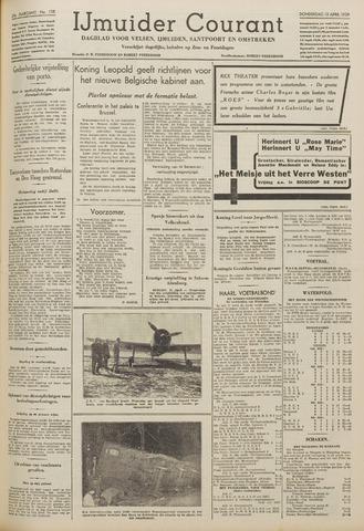 IJmuider Courant 1939-04-13