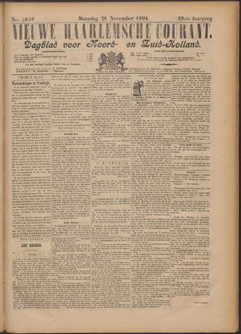 Nieuwe Haarlemsche Courant 1904-11-28