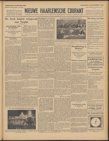 Nieuwe Haarlemsche Courant 1933-12-18