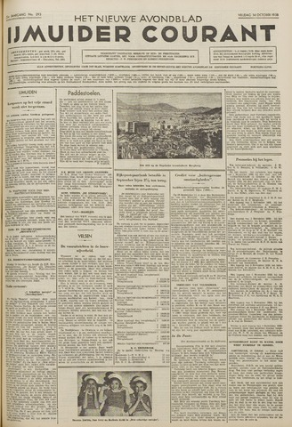 IJmuider Courant 1938-10-14