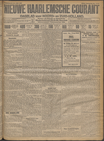 Nieuwe Haarlemsche Courant 1915-06-24