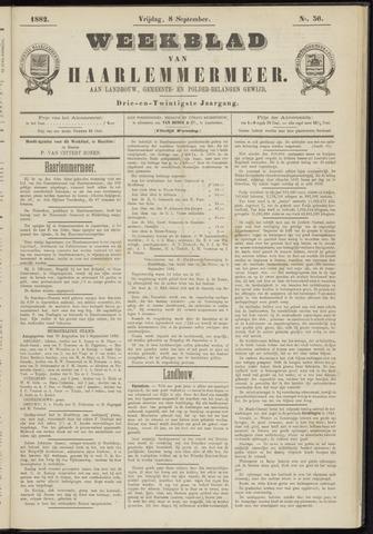 Weekblad van Haarlemmermeer 1882-09-08