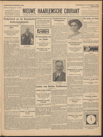 Nieuwe Haarlemsche Courant 1934-08-09