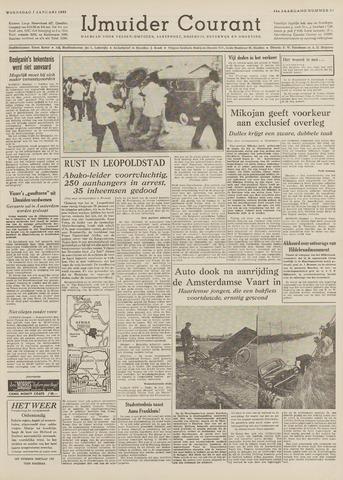 IJmuider Courant 1959-01-07