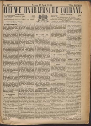 Nieuwe Haarlemsche Courant 1895-04-28