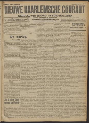 Nieuwe Haarlemsche Courant 1914-10-12