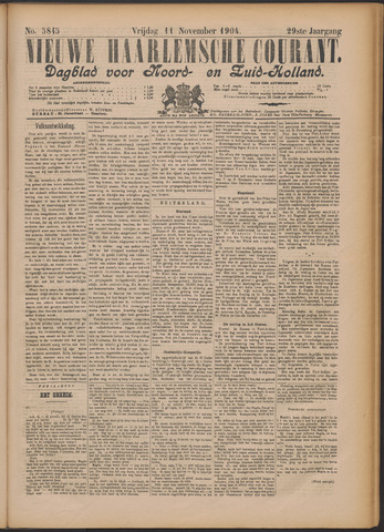 Nieuwe Haarlemsche Courant 1904-11-11