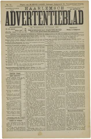 Haarlemsch Advertentieblad 1900-02-14