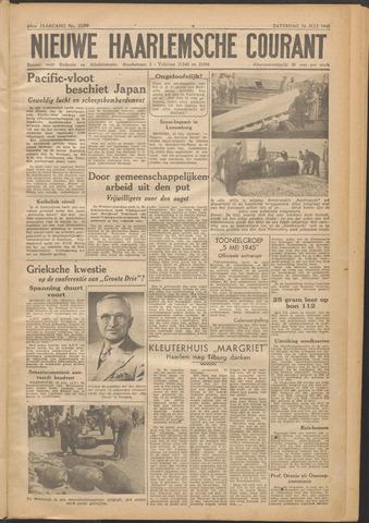 Nieuwe Haarlemsche Courant 1945-07-14