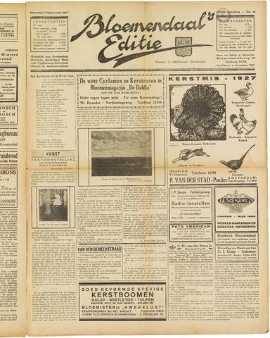 Bloemendaal's Editie 1927-12-17