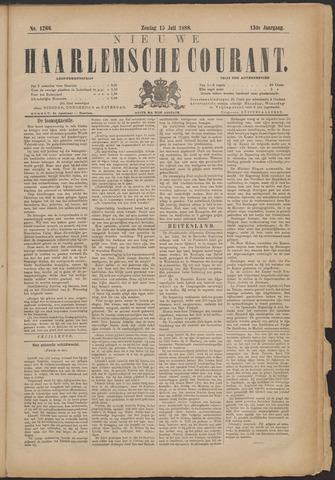 Nieuwe Haarlemsche Courant 1888-07-15