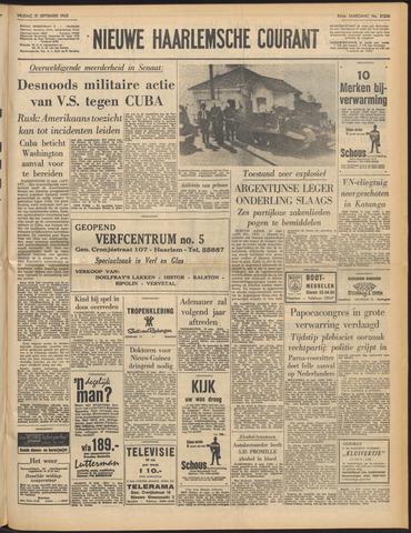 Nieuwe Haarlemsche Courant 1962-09-21