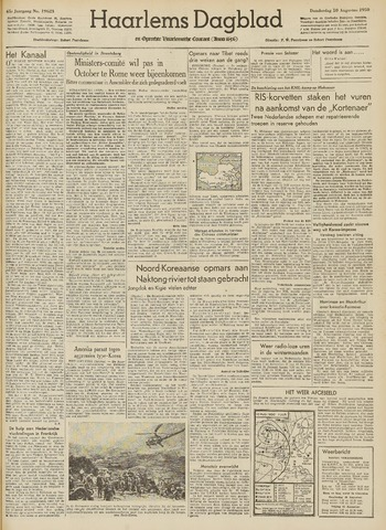 Haarlem's Dagblad 1950-08-10