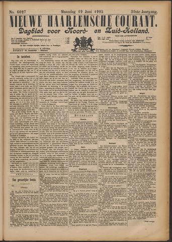 Nieuwe Haarlemsche Courant 1905-06-19