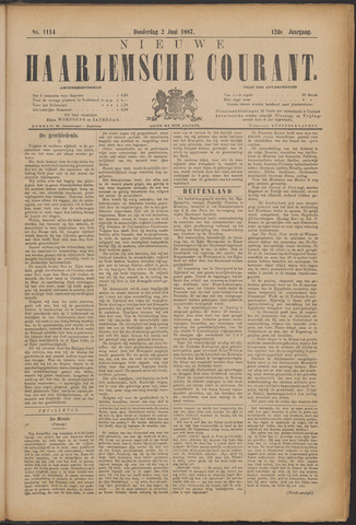 Nieuwe Haarlemsche Courant 1887-06-02