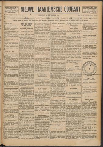 Nieuwe Haarlemsche Courant 1930-09-30
