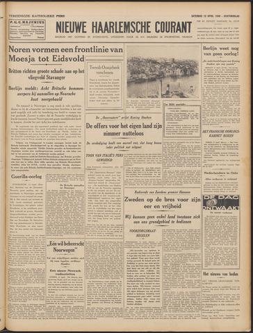 Nieuwe Haarlemsche Courant 1940-04-13