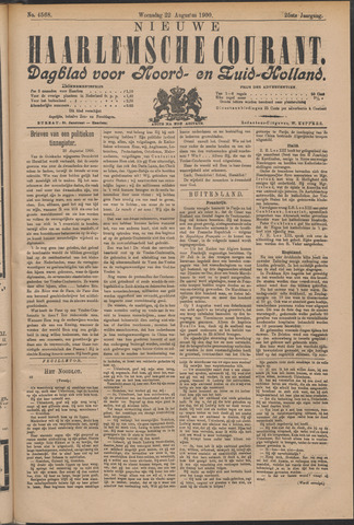 Nieuwe Haarlemsche Courant 1900-08-22
