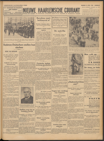 Nieuwe Haarlemsche Courant 1938-04-25