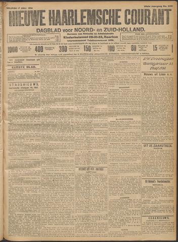 Nieuwe Haarlemsche Courant 1914-07-17