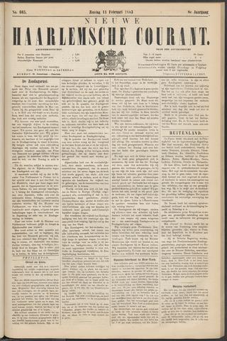 Nieuwe Haarlemsche Courant 1883-02-11