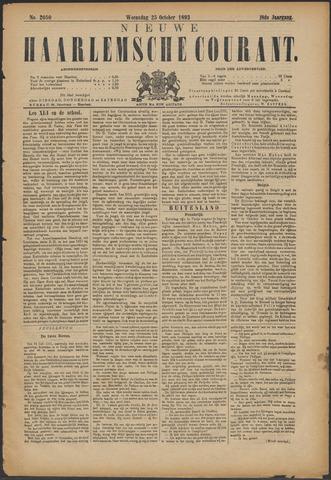 Nieuwe Haarlemsche Courant 1893-10-25