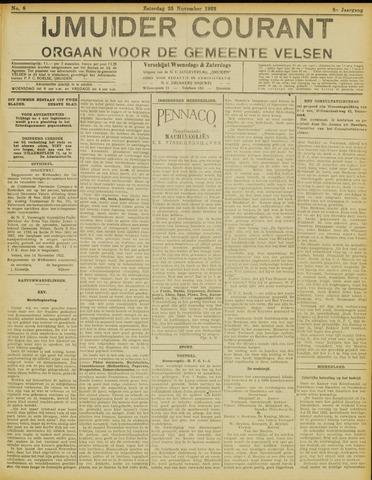 IJmuider Courant 1922-11-25