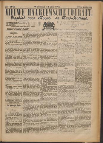 Nieuwe Haarlemsche Courant 1905-07-12