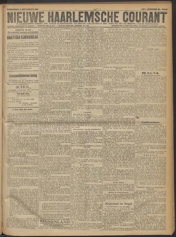 Nieuwe Haarlemsche Courant 1919-09-11