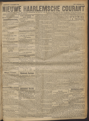 Nieuwe Haarlemsche Courant 1918-12-12
