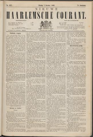 Nieuwe Haarlemsche Courant 1882-10-01