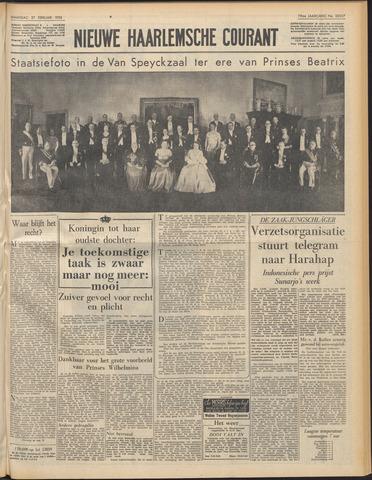 Nieuwe Haarlemsche Courant 1956-02-27