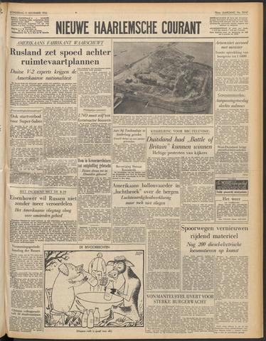 Nieuwe Haarlemsche Courant 1954-11-11