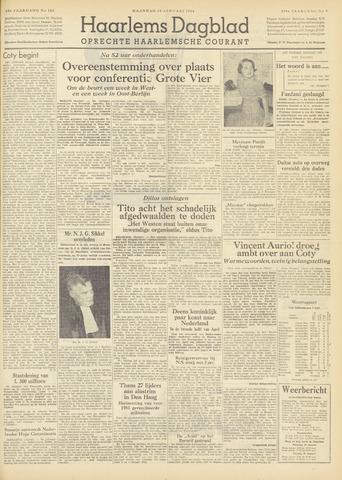 Haarlem's Dagblad 1954-01-18