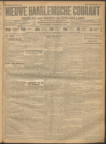 Nieuwe Haarlemsche Courant 1914-04-15