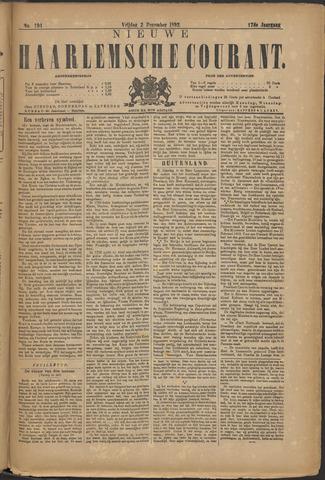 Nieuwe Haarlemsche Courant 1892-12-02