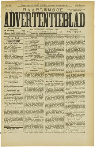 Haarlemsch Advertentieblad 1889-02-16