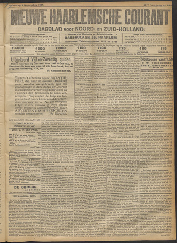 Nieuwe Haarlemsche Courant 1915-11-08