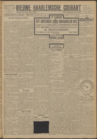 Nieuwe Haarlemsche Courant 1922-12-29
