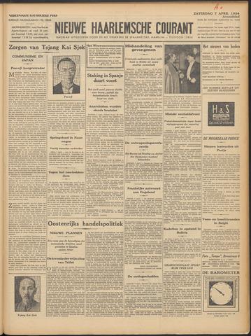 Nieuwe Haarlemsche Courant 1934-04-07