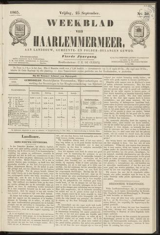 Weekblad van Haarlemmermeer 1863-09-25
