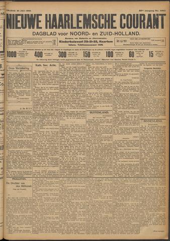 Nieuwe Haarlemsche Courant 1908-07-24