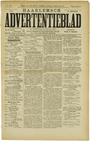 Haarlemsch Advertentieblad 1888-08-04