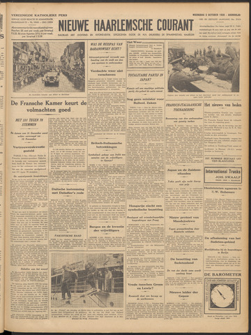 Nieuwe Haarlemsche Courant 1938-10-05